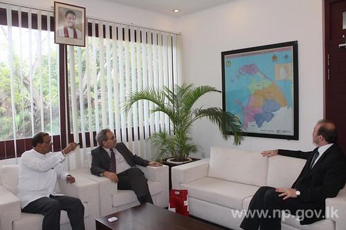 Swiss Ambassador to SL pays courtesy call – 19 November 2014