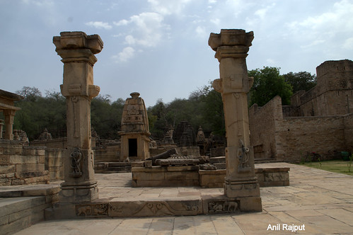 Bateshwar group of Temples entrance , Morena, Gwalior