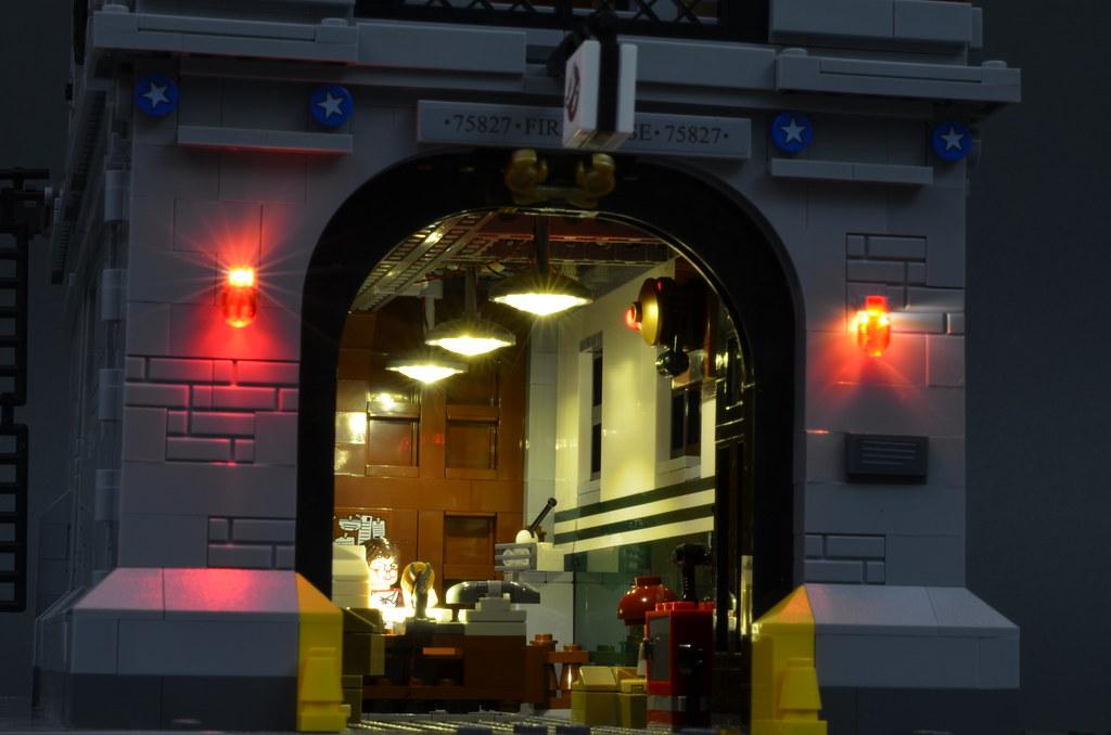 Brickstuff Lighting Kit for the LEGO Ghostbusters Firehous ...