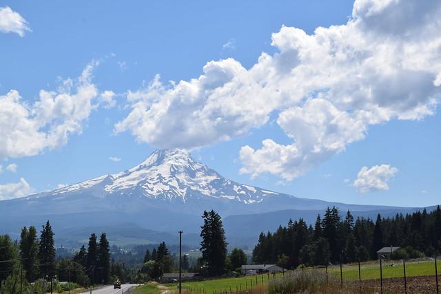 Mount Hood and Timberline Lodge