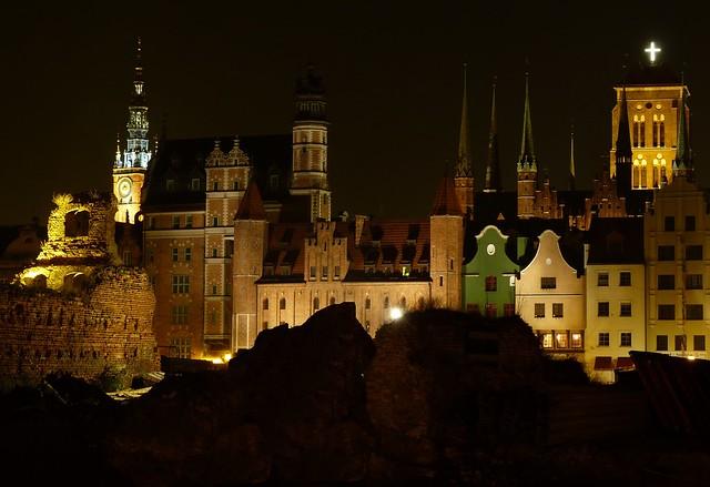 Noche en Gdansk