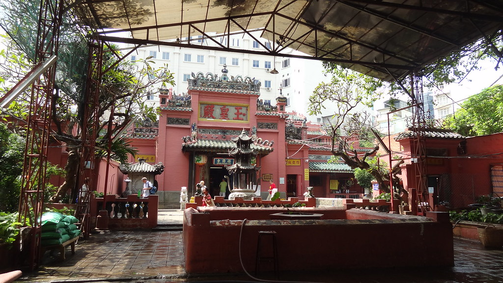 Entrance to the Jade Emperor Pagoda