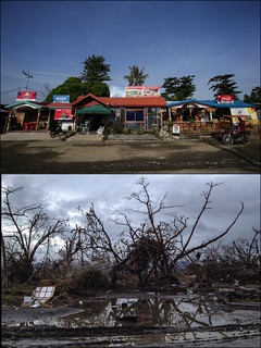Typhoon Haiyan: then and now