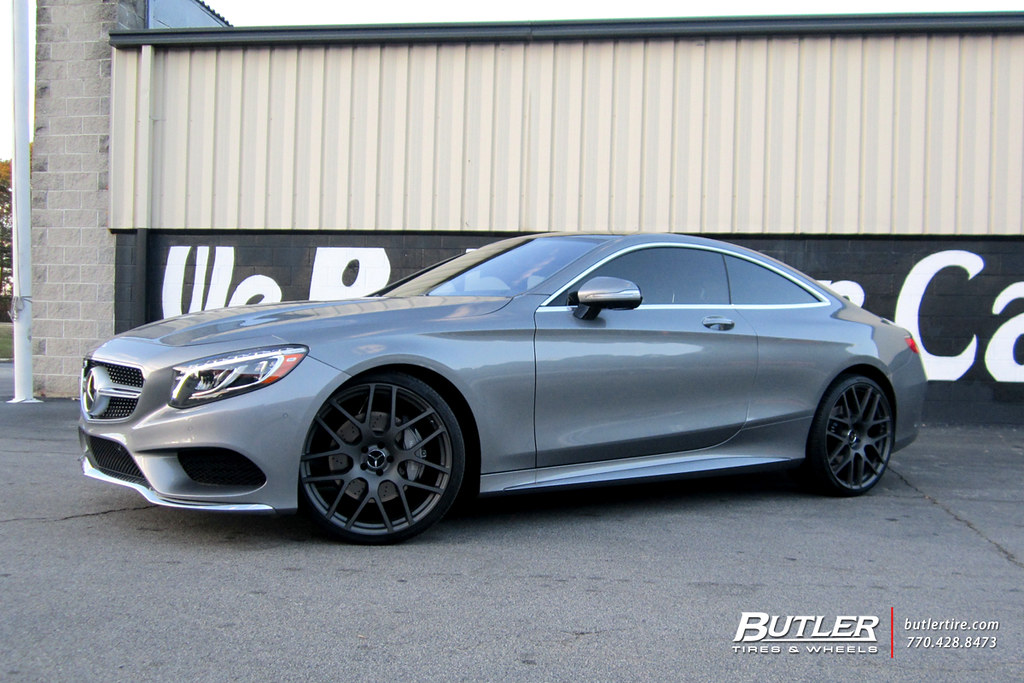 Mercedes S550 Coupe With 22in Tsw Nurburgring Wheels Flickr