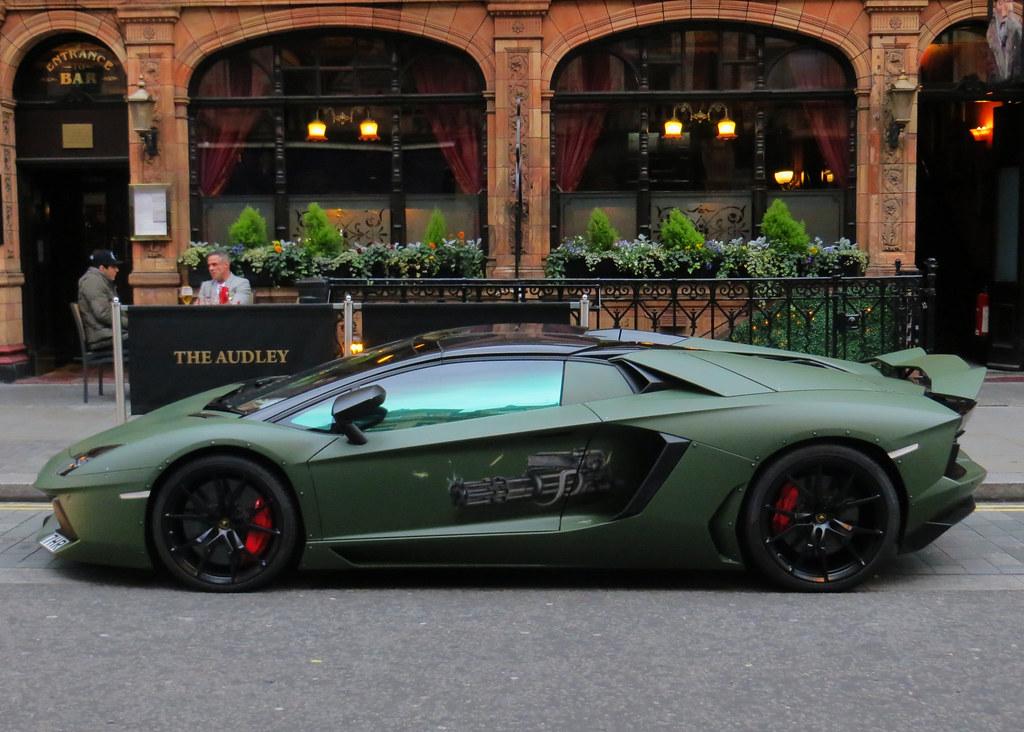 Lamborghini Aventador Spyder Quot Army Quot P3cks57 Flickr