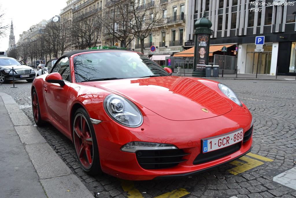 Porsche 911 Carrera Cabriolet 991