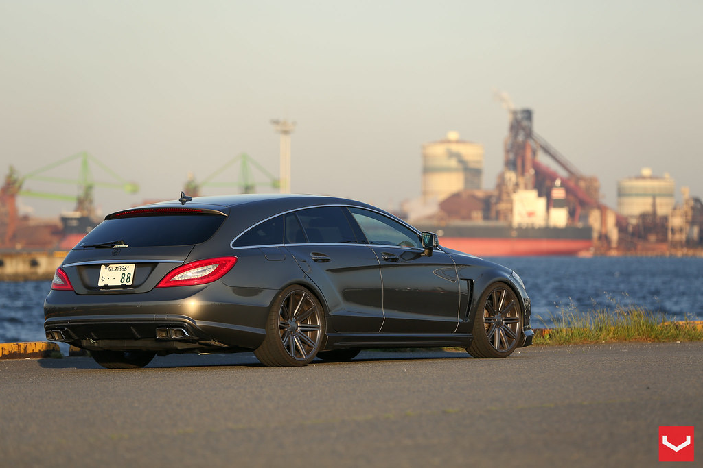 Mercedes Cls Estate 20 Quot Vossen Cv4 Concave Wheels Matt