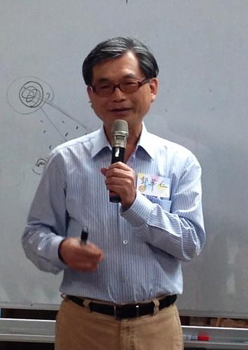 台大農藝系榮譽教授郭華仁,是國內種子科學權威。資料照片,攝影:廖靜蕙