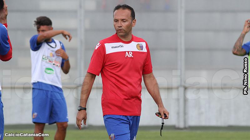 Il nuovo allenatore in seconda Alessandro Russo