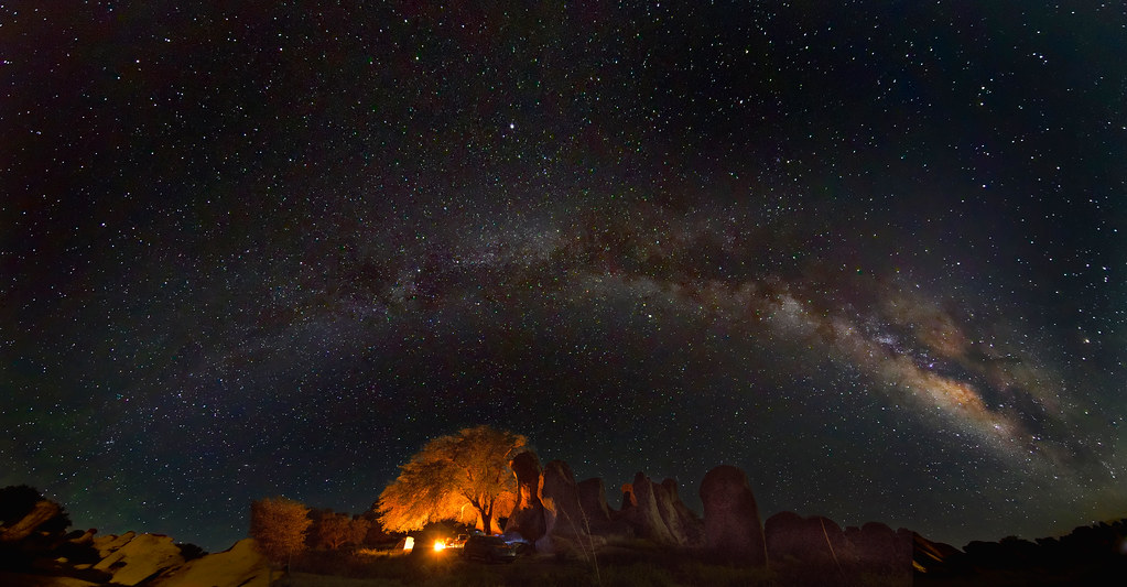 Camping Out | City of Rocks State Park, New Mexico. | John ...