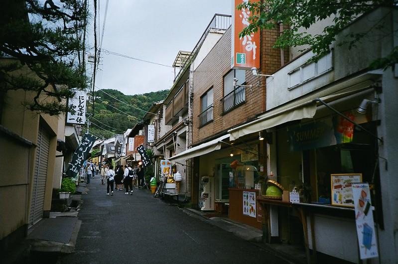 京都:銀閣寺参道