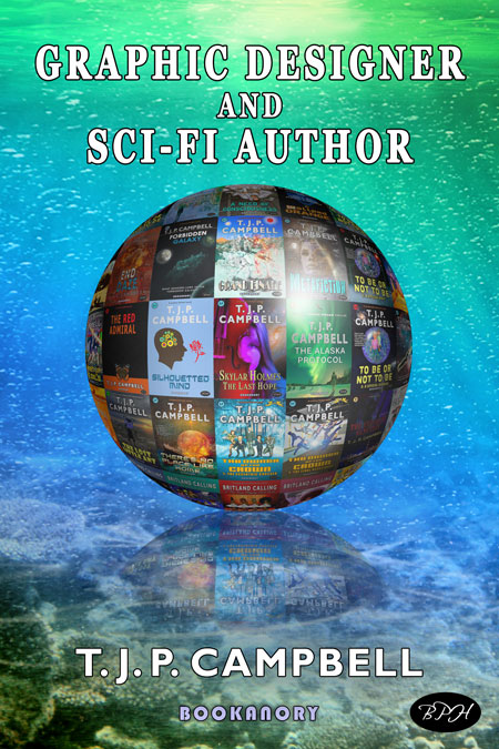book cover GRAPHIC designer AND AUTHOR globe
