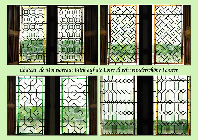 Schlösser der Loire Montsoreau Alexandre Dumas Tuffstein Kalktuff Foto Brigitte Stolle 2016