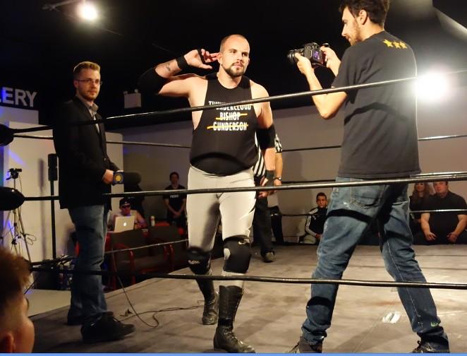 wrestler Nick Watts boasts destruction of opponents