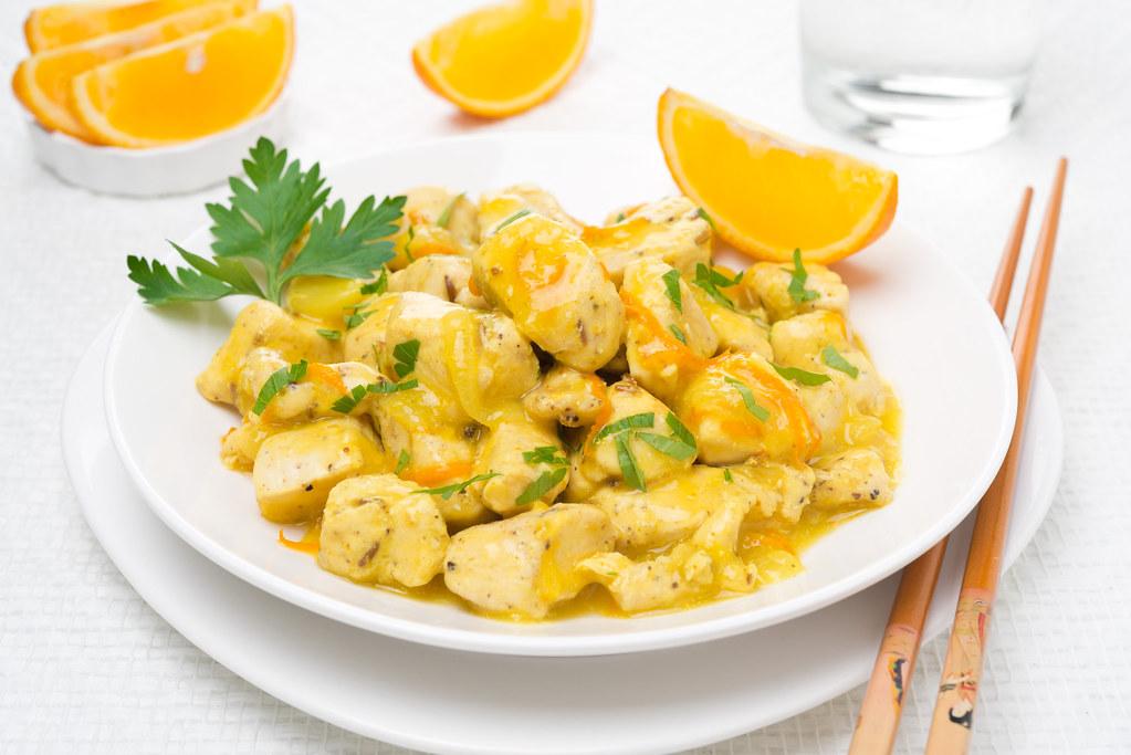 Филе куриное с апельсинами рецепты