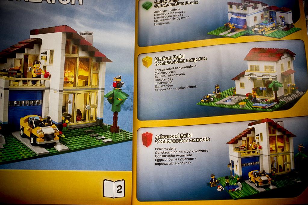 Img 7424 1 lego creator family house 31012 dennis for House creator