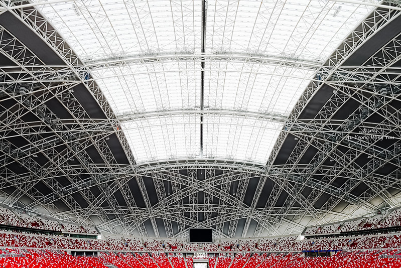 Singapore National Stadium Interior 2
