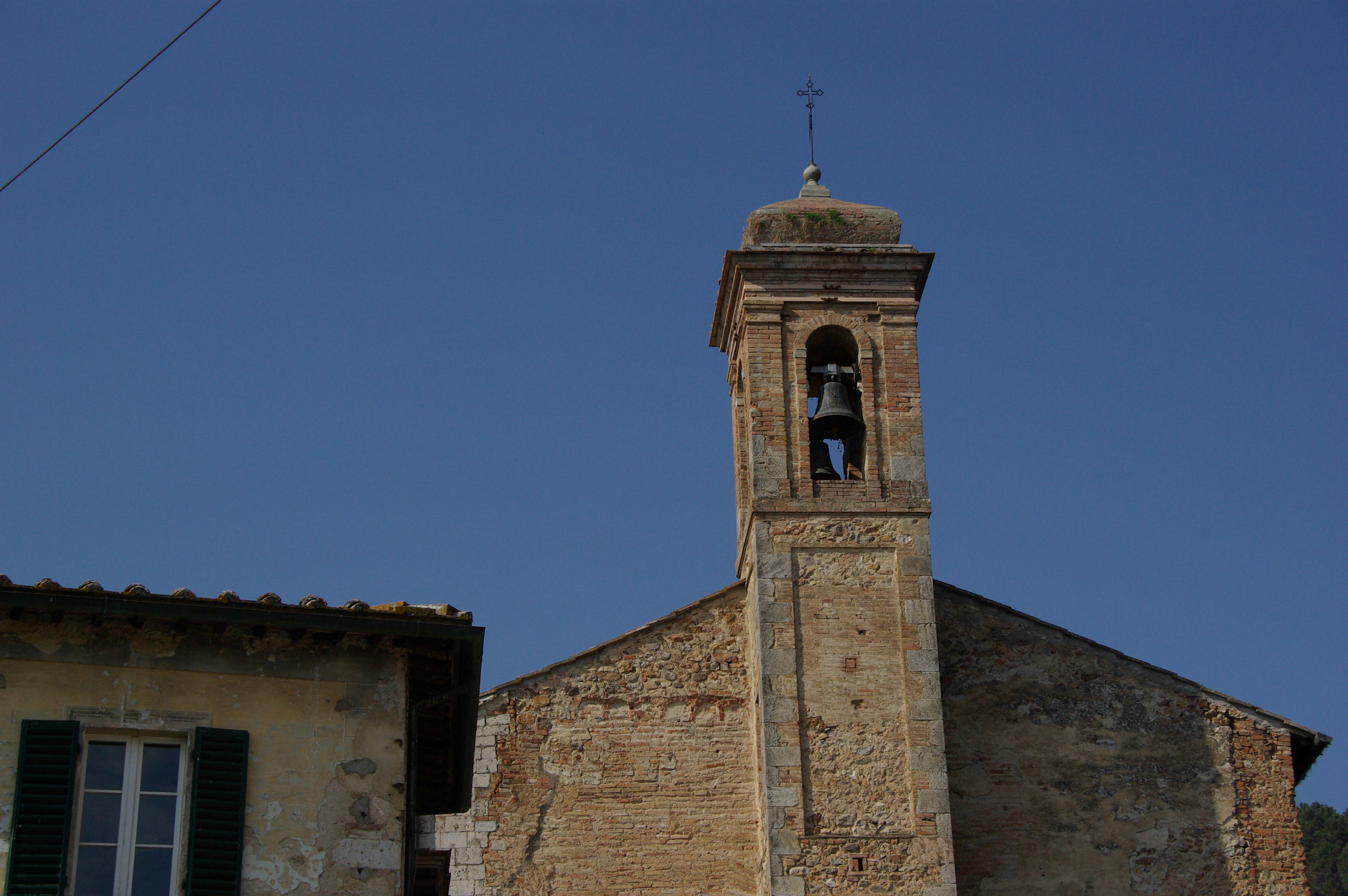 bell tower at the abbey
