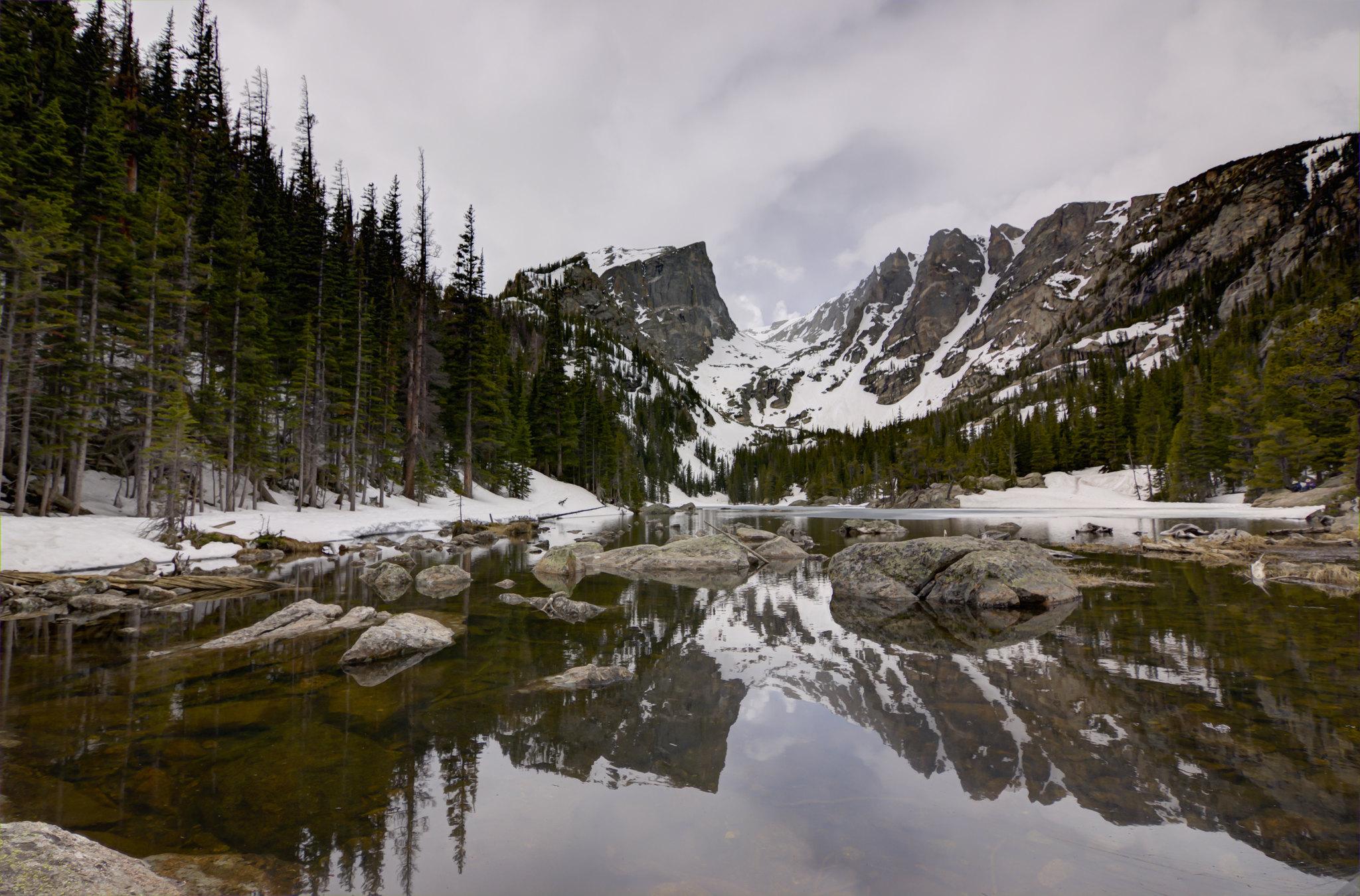 Dream Lake Rocky Mountain National Park Colorado Oc