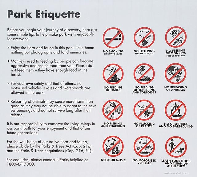 springleaf nature park etiquette