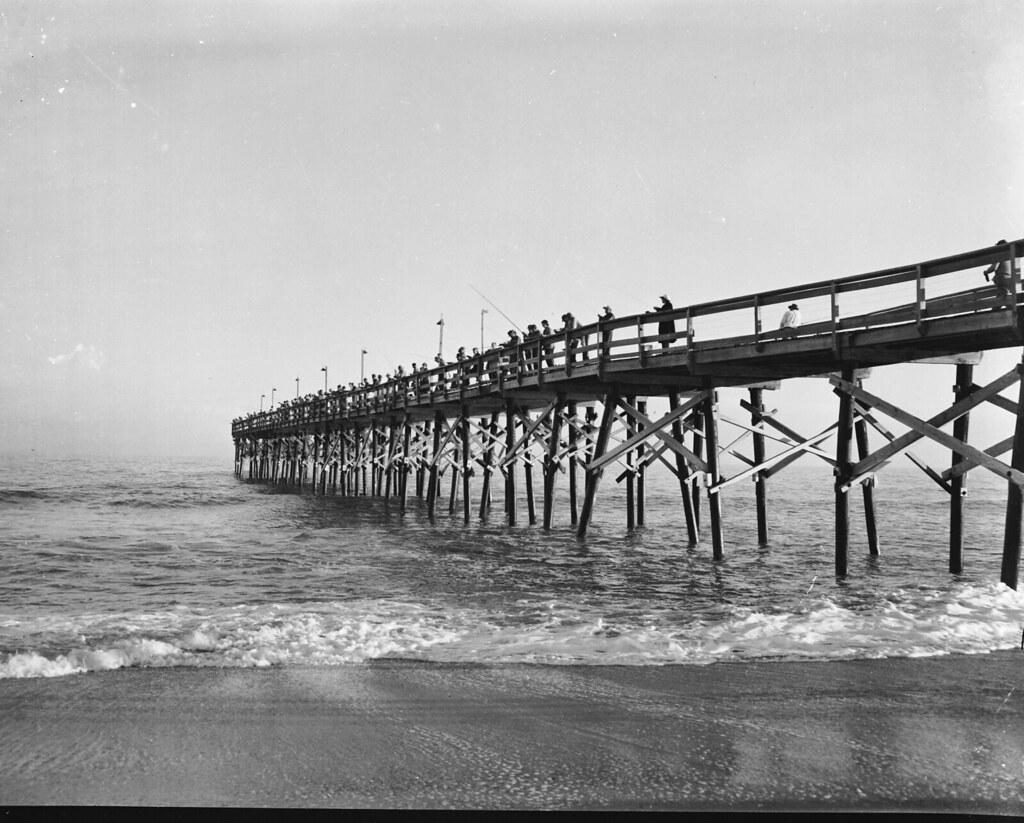 Darlpict Garden City Fishing Pier November 11 1951 Flickr