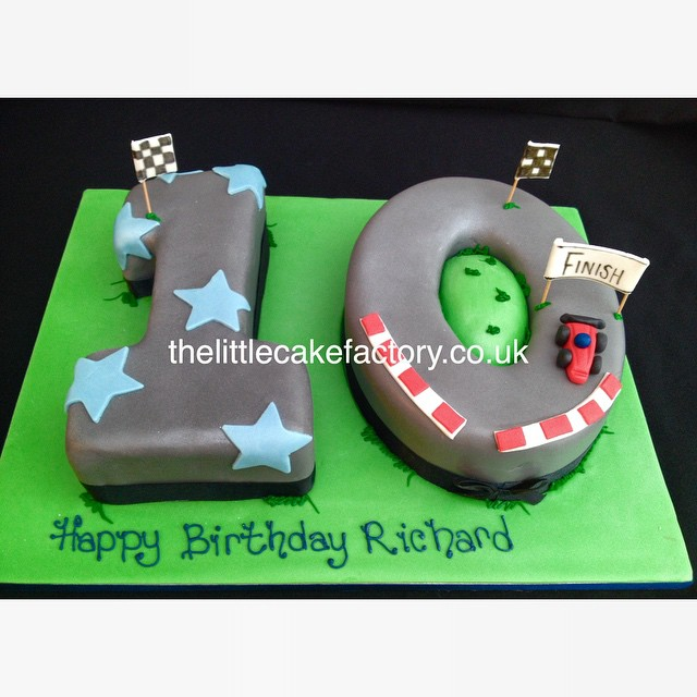 Number  Boy Birthday Cakes
