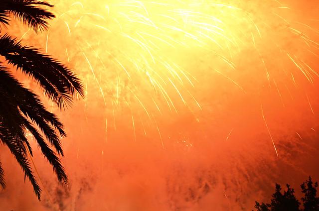 Explosive, Fuegos del Mayo, Fireworks, Los Realejos, Tenerife