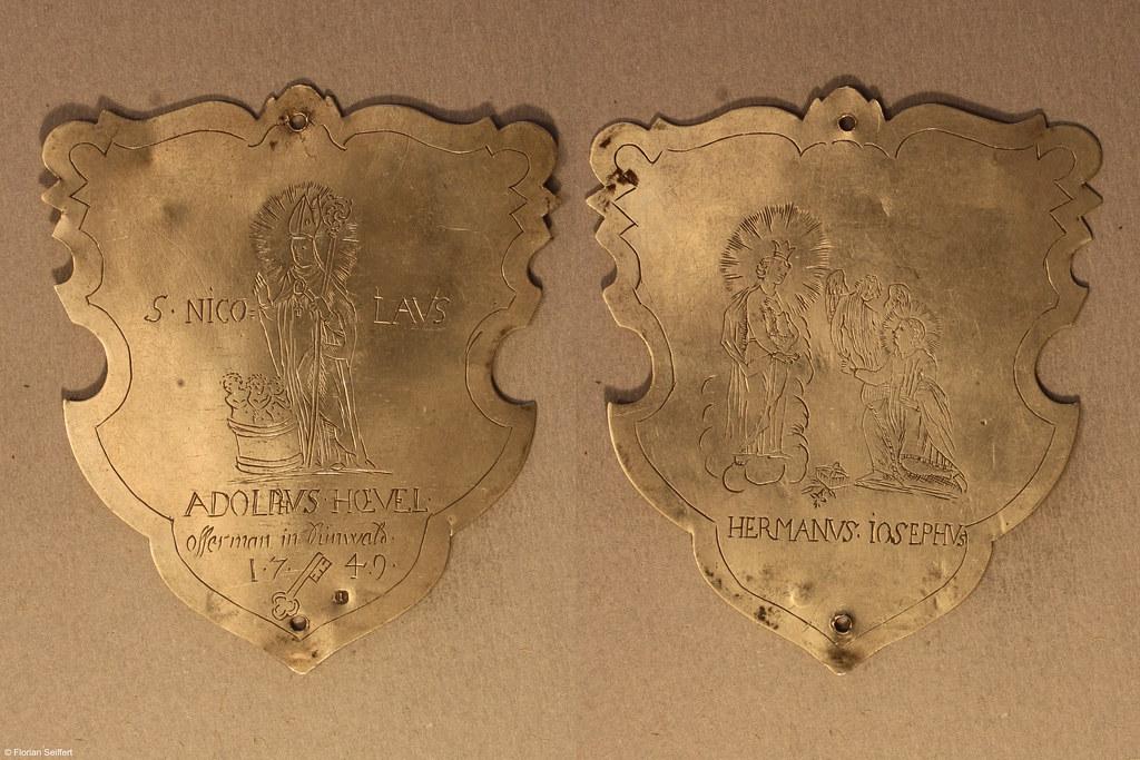 Koenigsschild Flittard von hoevel adolphus aus dem Jahr 1749