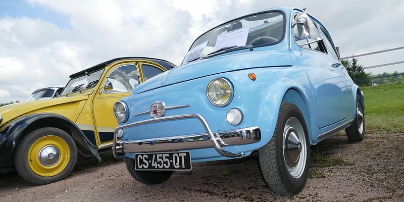 Fiat 500 Nuova 1966 plus belle que neuve 27163311813_34b6be2306_c