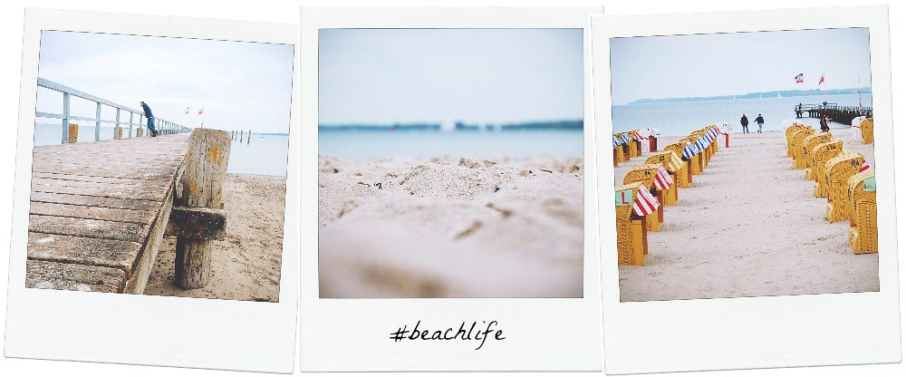 The beach of Travemünde (Germany) | via It's Travel O'Clock