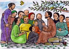 Resultado de imagen para En aquel tiempo, Jesús, mientras subía a la montaña, fue llamando a los que él quiso, y se fueron con él.