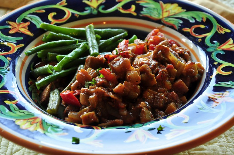 Bourguignon and Green Beans