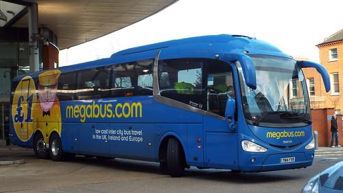 Megabus - YN14FVR - Norwich - 11 December 2014 (2)