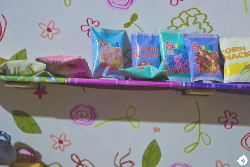 Some sweets are available as usual.