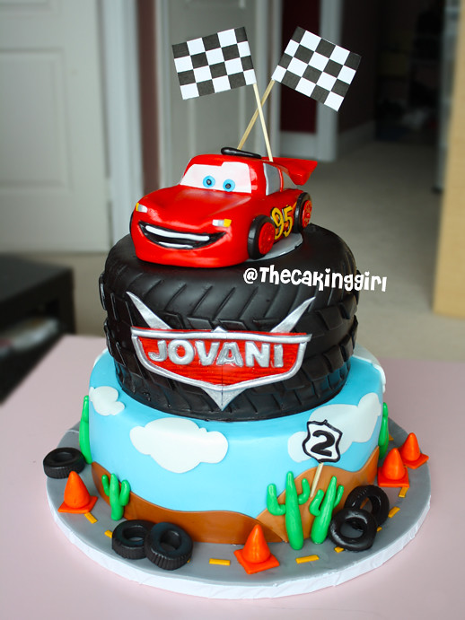 Mcqueen Cars Cake Design : Disney Cars Lightning Mcqueen Cake Visit my Blog at: www ...
