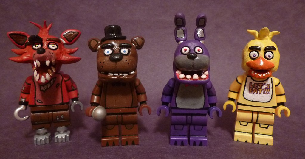Lego five nights at freddy s groupshot here is the four a