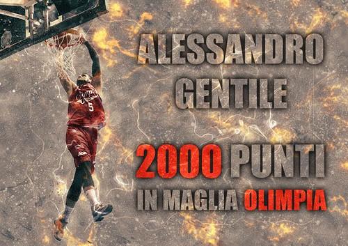 Alessandro 2000: Gentile scollina in maglia Olimpia