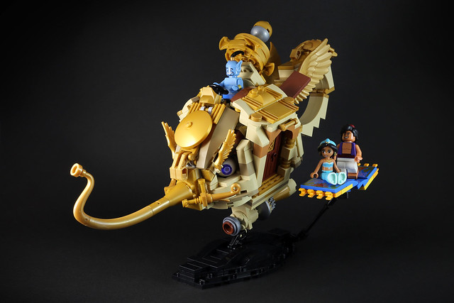 Genie S Lamps From Aladdin In Lego The Brothers Brick