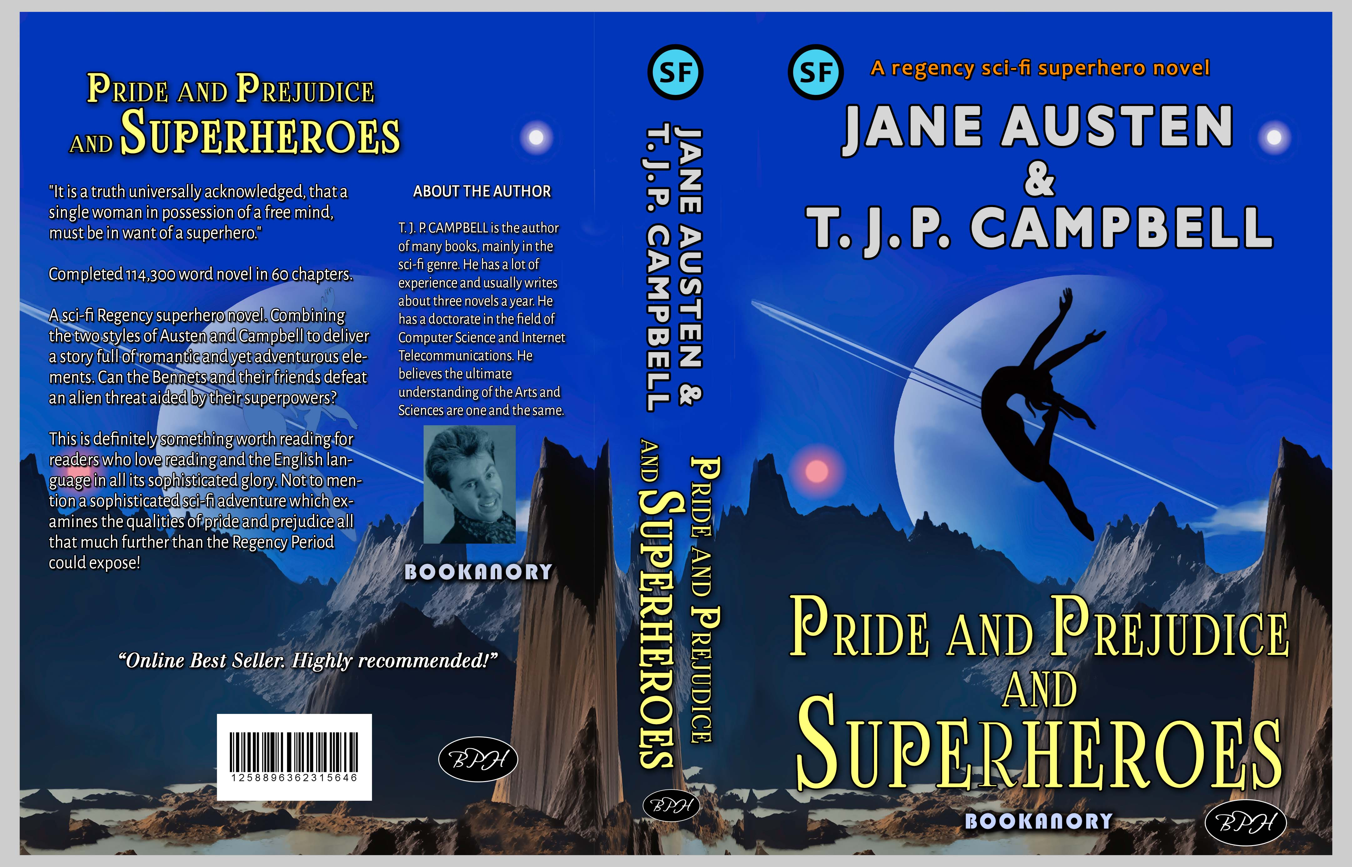 Full cover of Pride & Prejudice & Superheroes