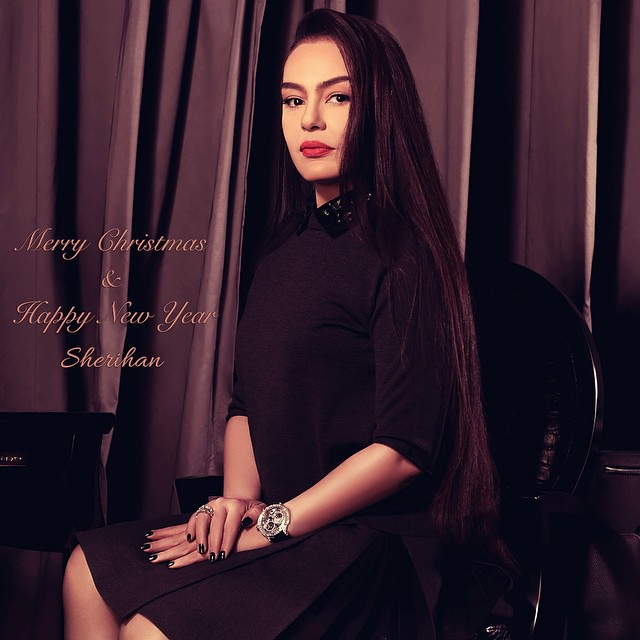 Merry #Christmas & #Happy #New_Year #2015 @sherihanofficial #SHERIHAN ...