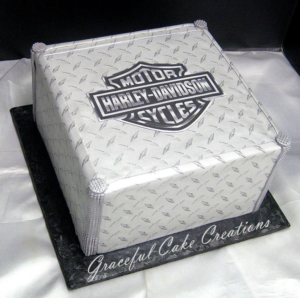 Harley Birthday Cake Pics