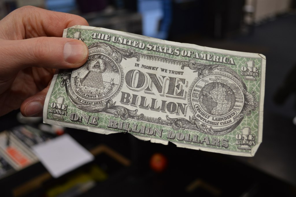 'One Billion Dollars' by Matt Brown