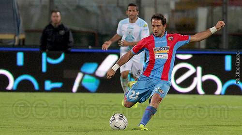 Rinaudo durante il match contro l'Entella della stagione 2014/15