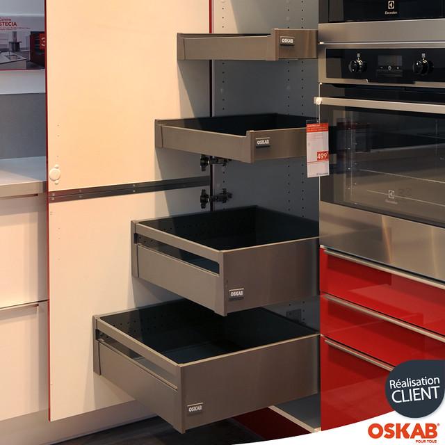 armoire de rangement avec 4 tiroirs l anglaise oskab