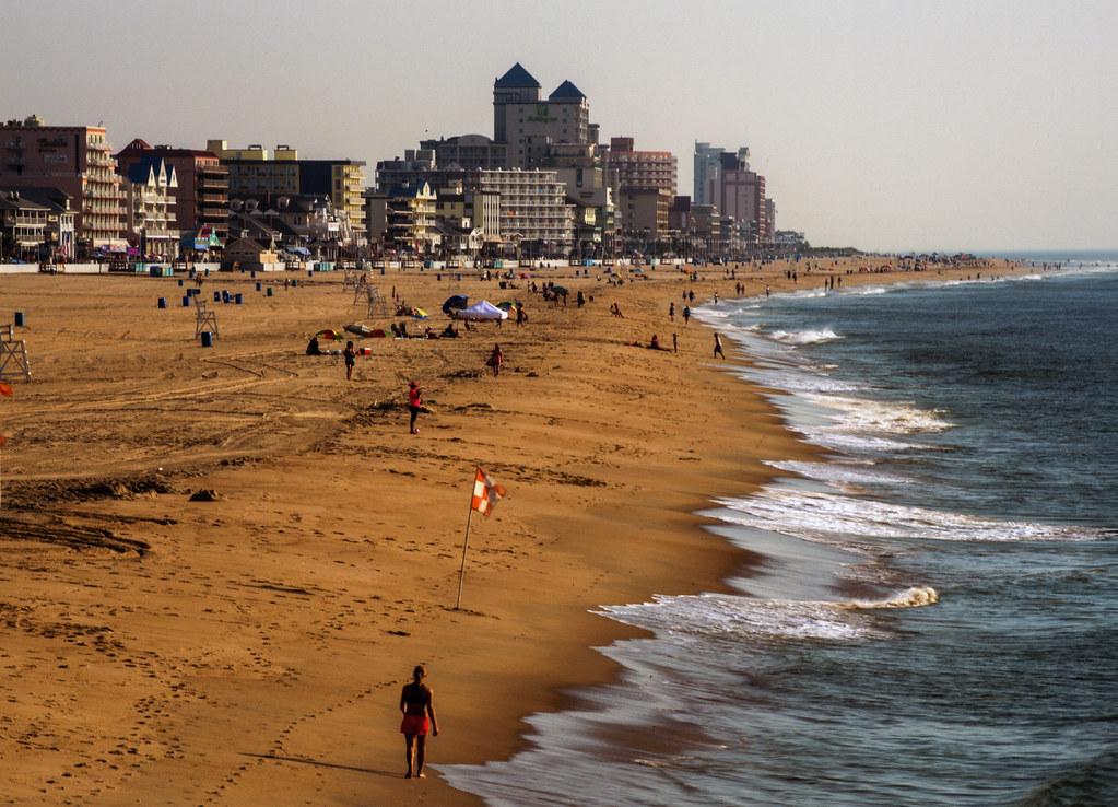 Photo of Ocean City beach by Joseph H. Soares Jr