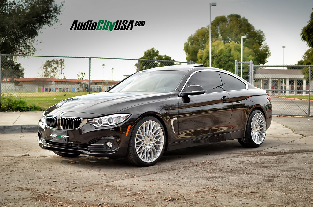 2015 Bmw 425 I On Niche Citrine M161 Silver Wheels Rims