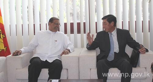 Japanese Ambassador calls on Governor - 30 October 2014
