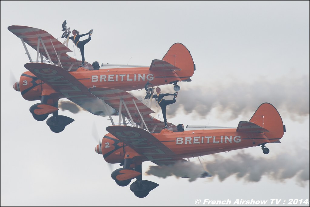 Breitling Wingwalkers Meeting Aerien Air14 Payerne (30-31 Aout) 2014
