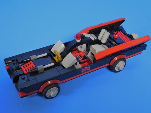 lego batman 3 1966 batmobile 001 flickr photo sharing. Black Bedroom Furniture Sets. Home Design Ideas