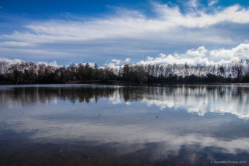 El reflejo en el lago